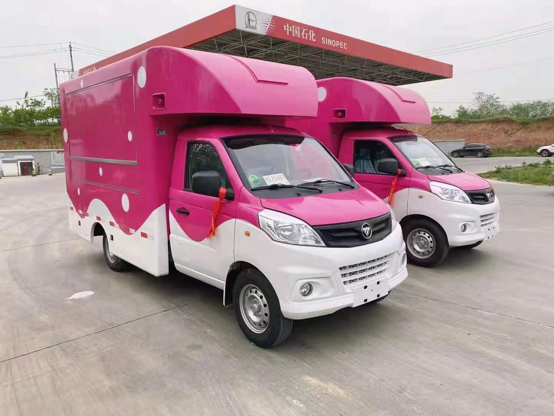 江西吉安厢式售货车大概多少钱一辆