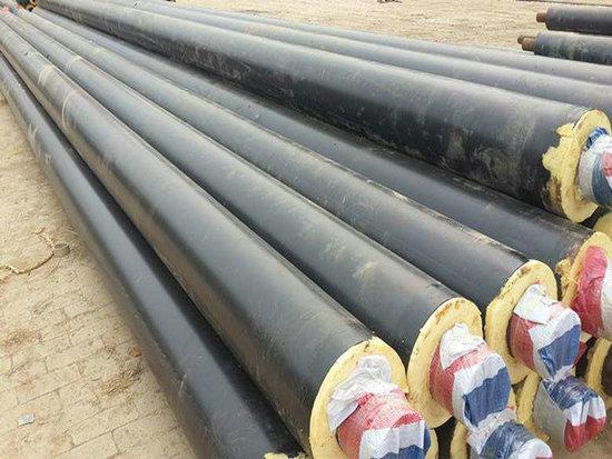 江门开平钢套钢保温管道钢套钢蒸汽直埋管道专业定制