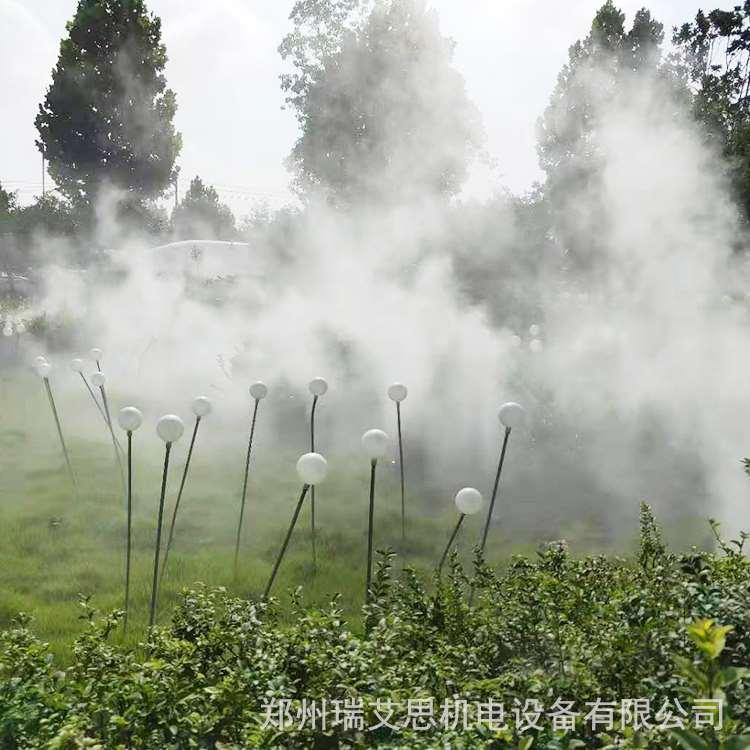 南京小区造雾怎么做