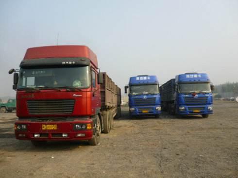 中山港口到张家口涿鹿的长途货车司机停车场
