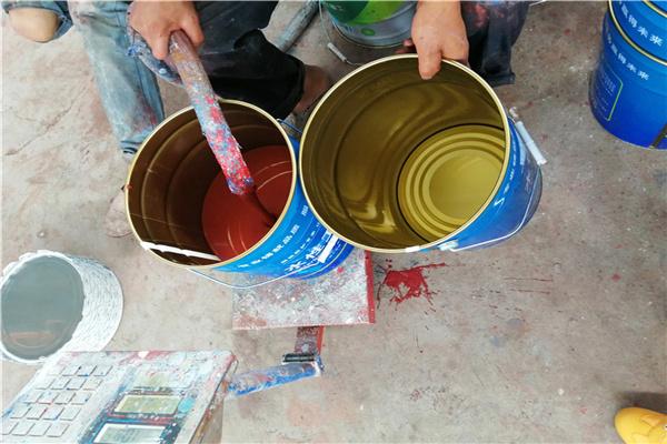 德宏厂房翻新-喷漆步骤