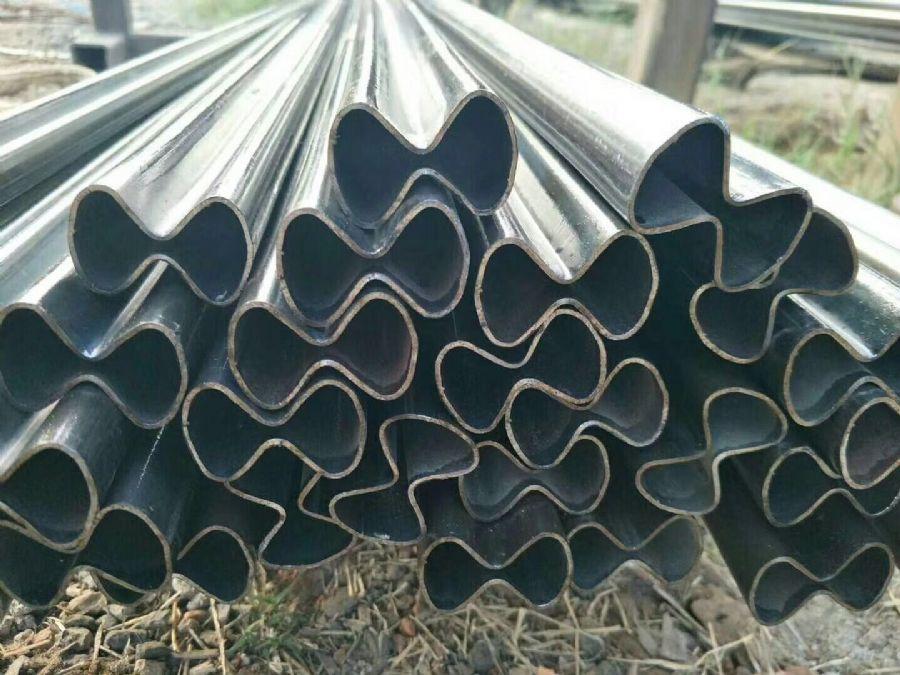 陕西延安20#异型钢管精密异型管批发