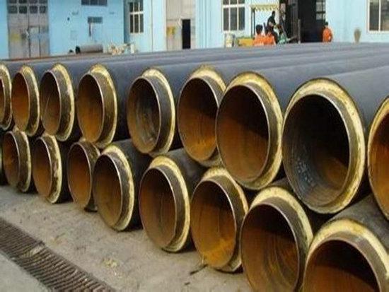 信阳光山钢套钢蒸汽复合保温管过磅价格