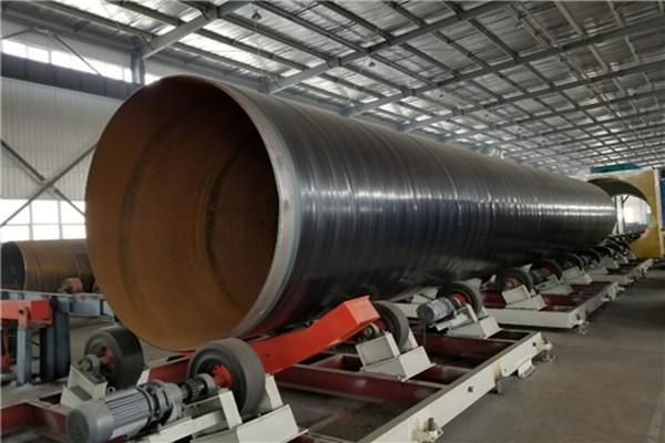 江苏省常州市大口径3PE防腐钢管 0362耐油防腐螺旋管正常厚度偏差