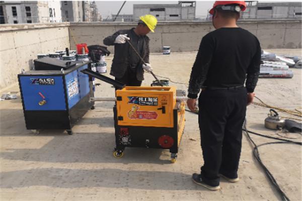 重庆万州多功能防水涂料喷涂机售后服务2021