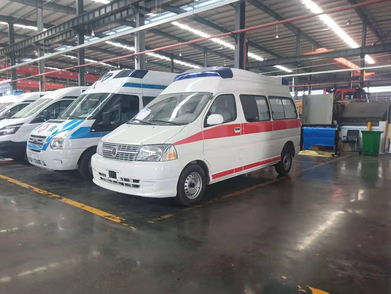 山东东营生产救护车的厂家新车上市 与众不同