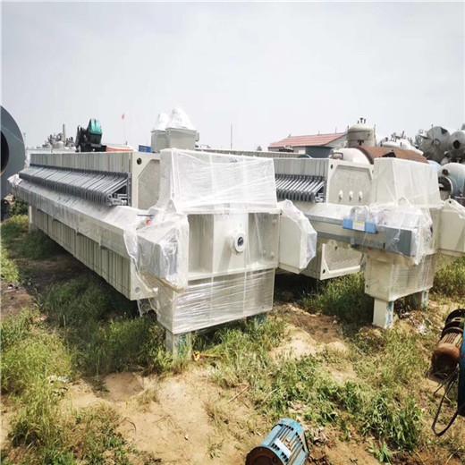 七台河二手漳州自动隔膜压滤机60平方