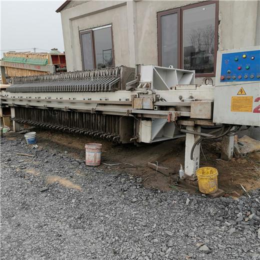 安阳林州二手厢式压滤机浆医生压滤机设备10平方