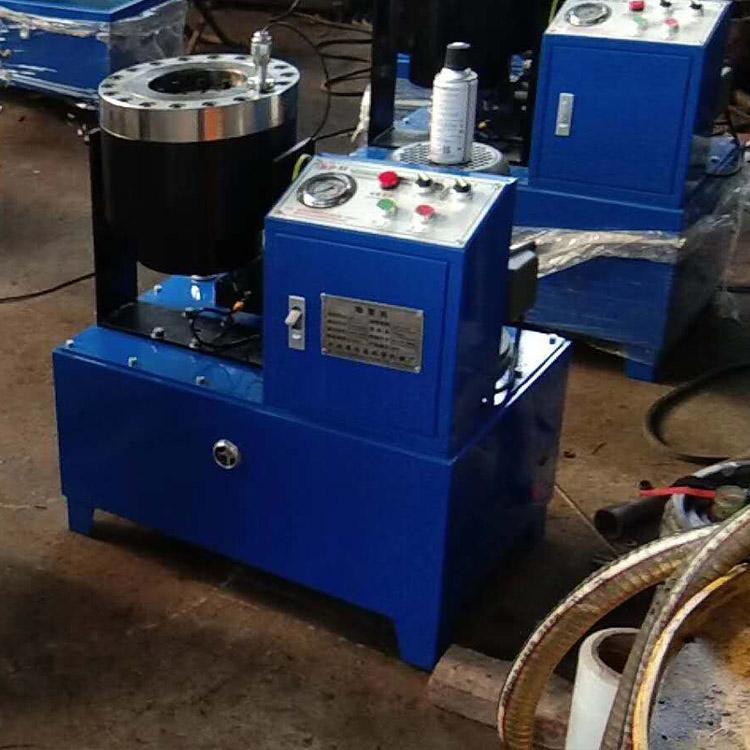 锁管机卧式钢管缩管机新乡市液压钢管缩口机