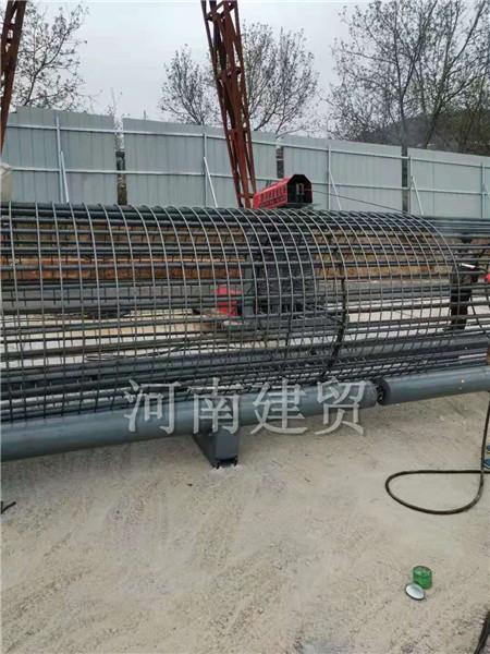 阳江钢筋笼绕筋机加工钢筋笼范围