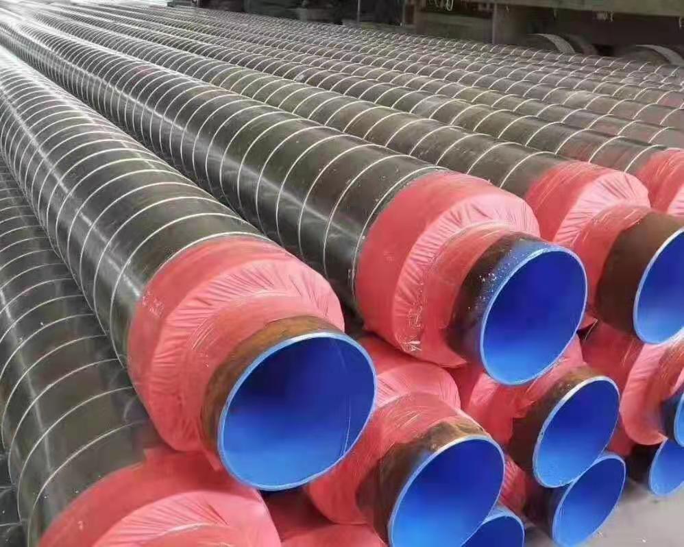林芝聚氨酯直埋保温螺旋钢管代理商