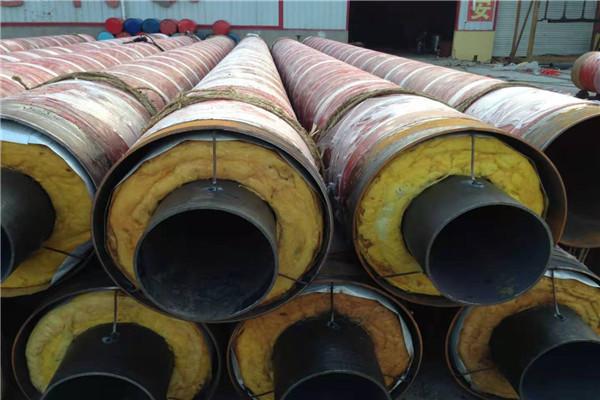 钢套钢蒸气保温管大型厂家滨州市2021年