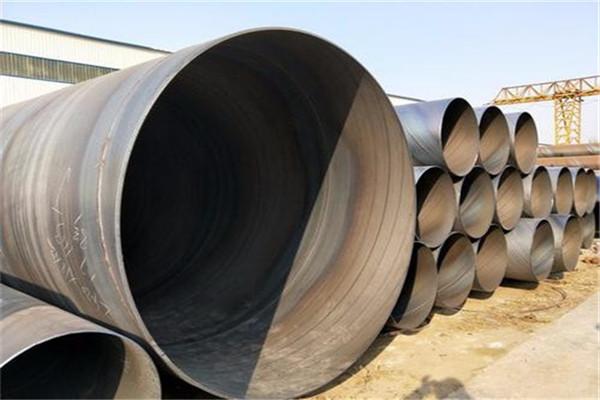 埋地供水管道用螺旋焊管期行情武汉汉南