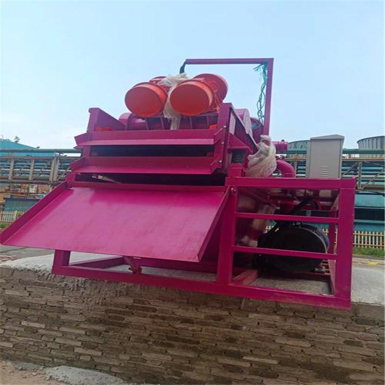 宁波移动式泥浆分离机工作视频