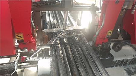 陕西西安钢筋笼绕筋机电机加大