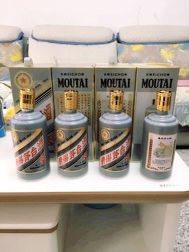 (回收牛年茅台酒瓶)回收生肖牛年空瓶价格是多少
