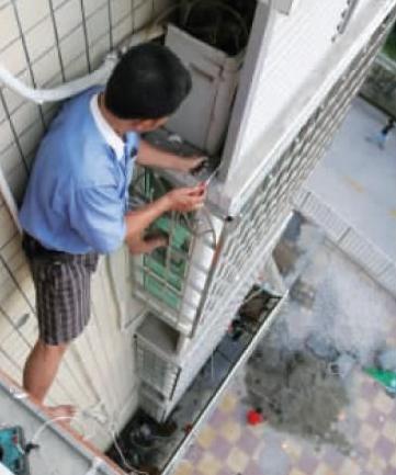 余杭区临镇家用空调维修专业高压清理