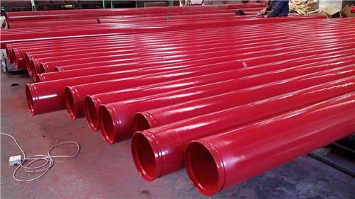 煤矿复合涂塑钢管用于 高温压缩气体管道延边族自治州