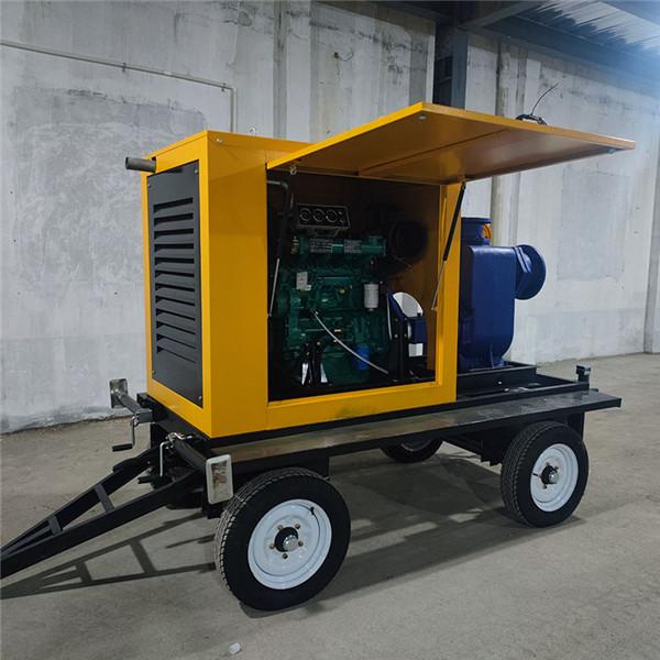 常德津市应急排水泵车自吸能力强规格型号齐全