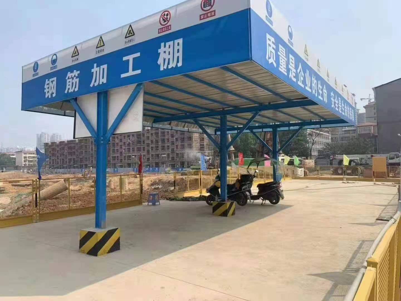 沧州市钢筋棚加工厂详情