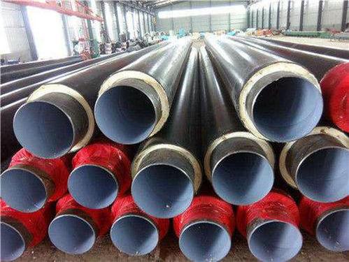 高温直埋式预制保温dn700钢管价格每米价钱