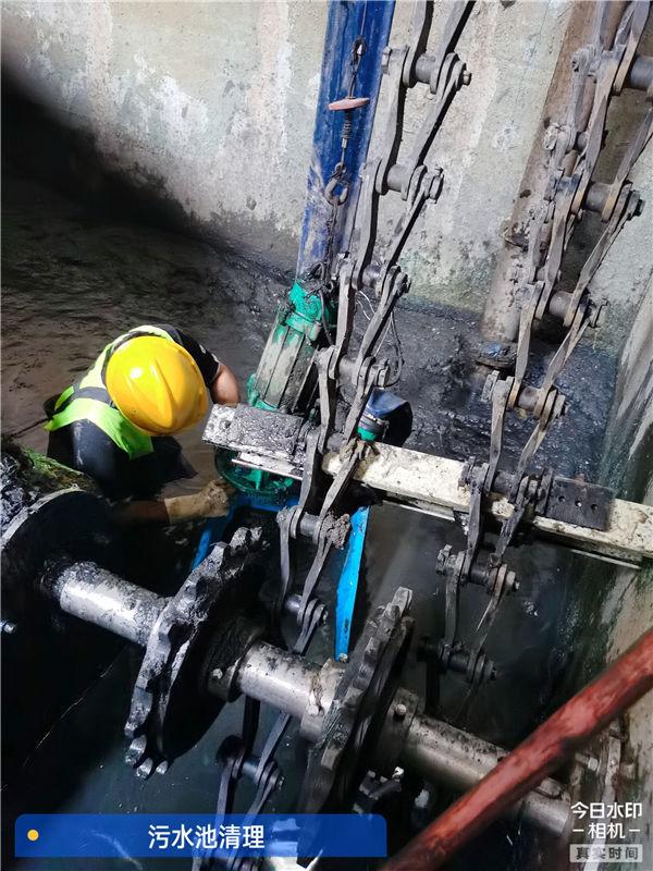 持证上岗-杭州市下沙区污泥池清理良心公司【捷达通】
