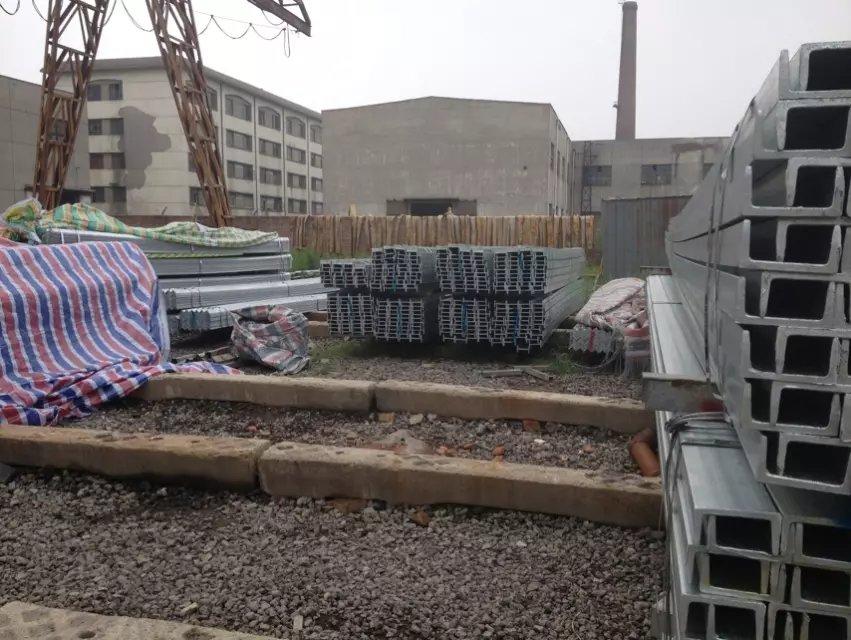 福建省宁德市6.3#热镀锌槽钢现货