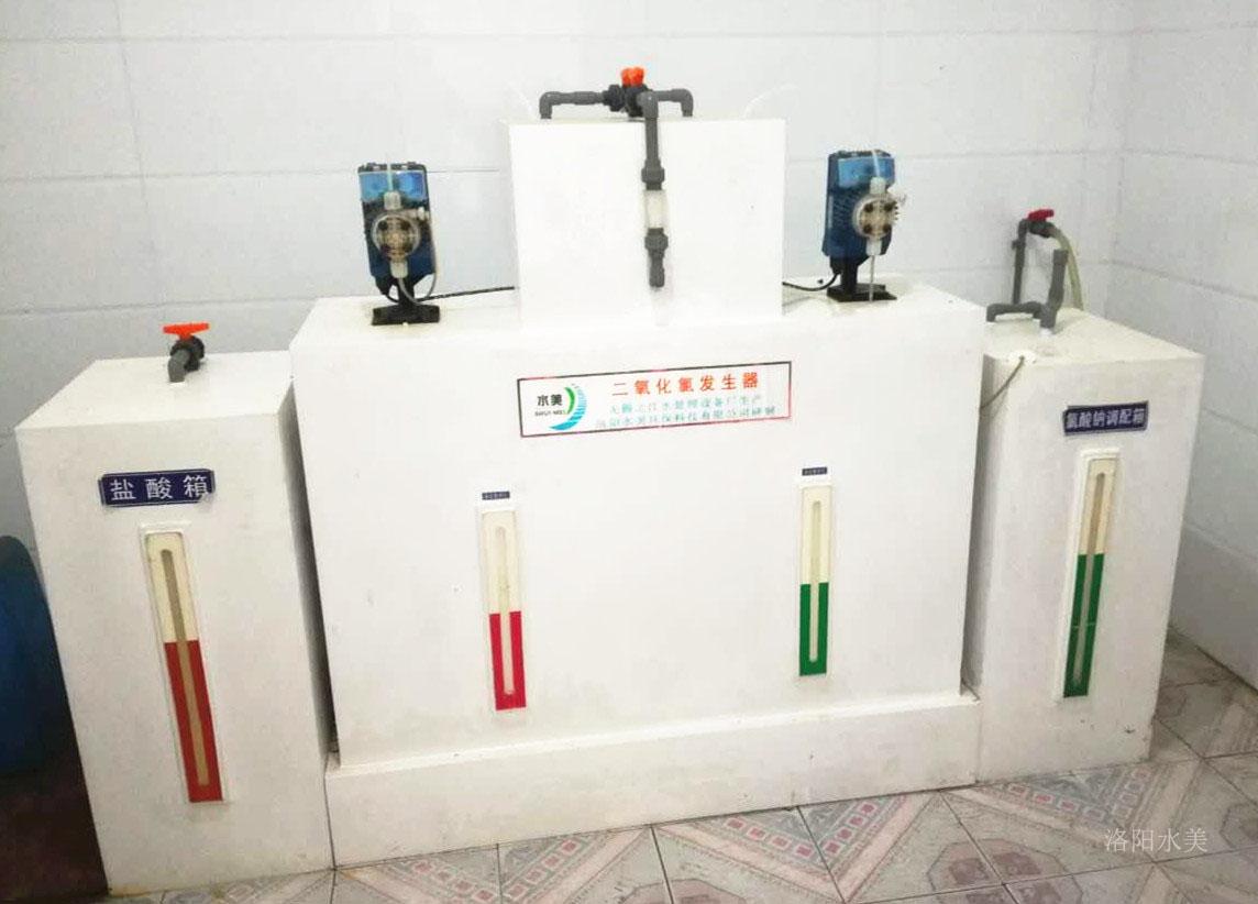 天水地埋式一体化污水处理设备