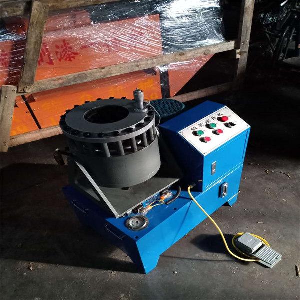 诸暨市液压压管机/大棚钢管缩管机
