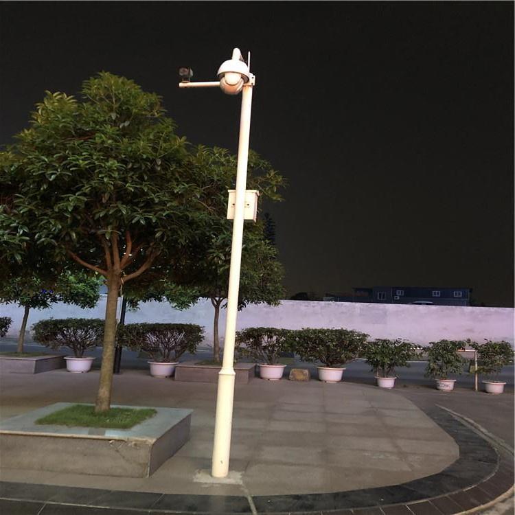 广元市青川县户外道路防水监控立杆6.5*11米交通监控杆怎样生产的