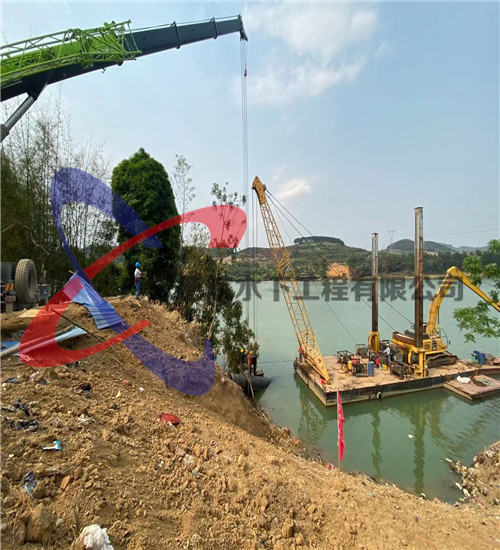 黑河市工程船租赁(过海管道穿越