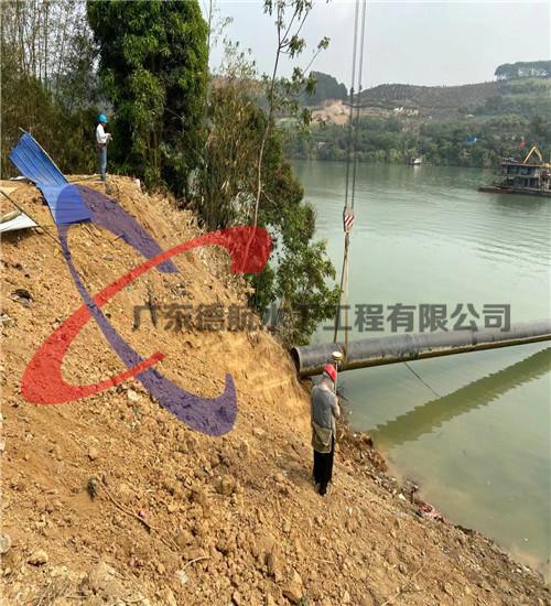 咸宁市过江输水管道安装(河中管道水下安装公司