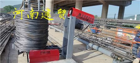 庆阳半自动钢筋笼滚焊机设备原理介绍