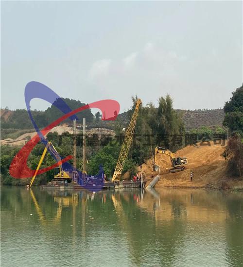 遂宁市水下管道沉管穿越(湖上管道安装公司