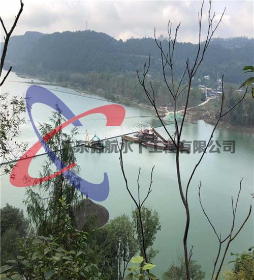 桂林市过河水下管道安装(取水口上移工程