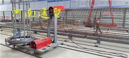 合肥数控钢筋笼绕筋机设备原理介绍