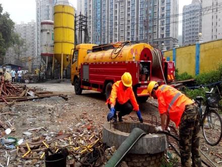 龙泉市市政管道清洗服务