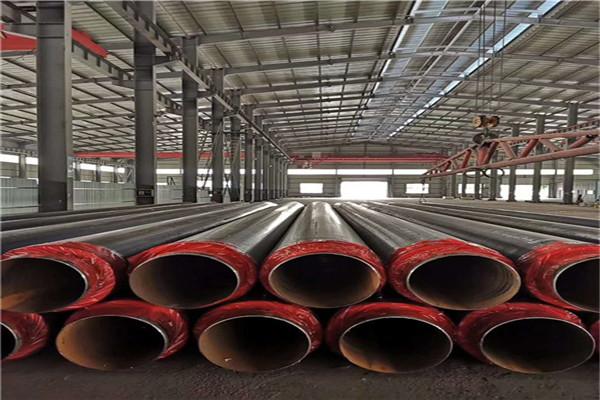 预制直埋钢套钢蒸汽保温管厂家做法克什克腾旗