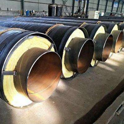 蒸汽用钢套钢保温钢管一吨价格定西通渭