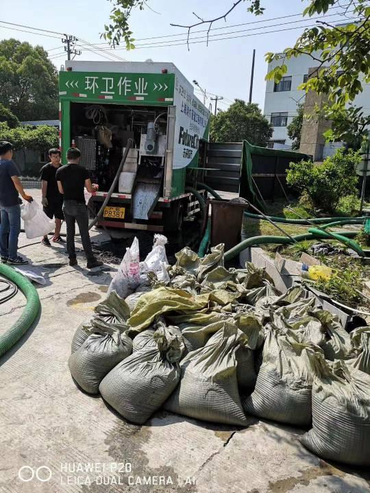 上海市宝山区生活污水池清理资质齐全公司