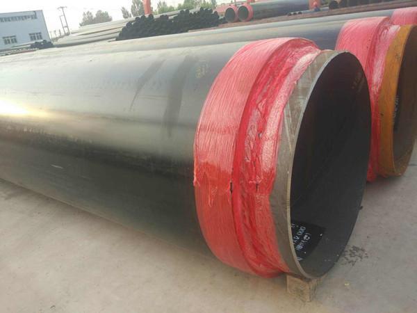 黑夹克保温直缝钢管-地埋式复合保温钢管价格报价