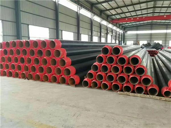 聚氨酯保温螺旋管-直埋保温钢钢管多少钱一米