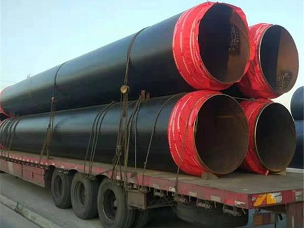 地埋发泡保温钢管-黑夹克直埋保温钢管生产厂家