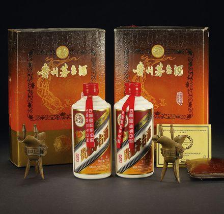 【收名酒】2001年整箱贵州茅台酒回收价格一览表