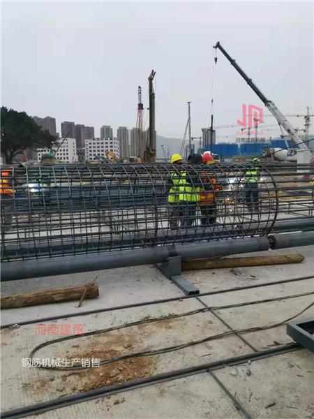 广东云浮钢筋笼成型机操作步骤