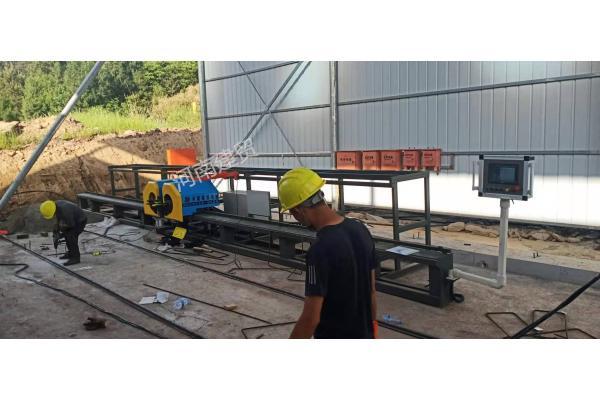 襄阳半自动钢筋笼绕丝机设备厂生产厂家