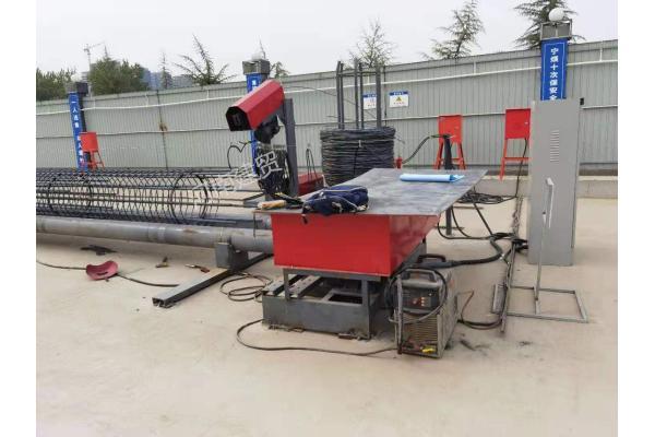 双筋钢筋笼滚笼机储存九套笼子参数