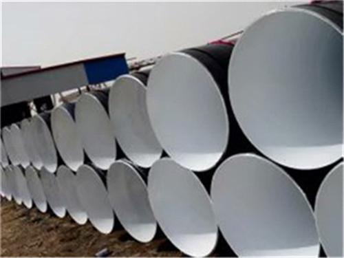 山东省莱芜市缠绕式3PE防腐螺旋管一米报价