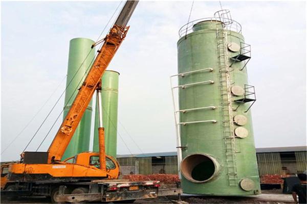 安庆太湖除尘净化塔防腐蚀欧意科技集团