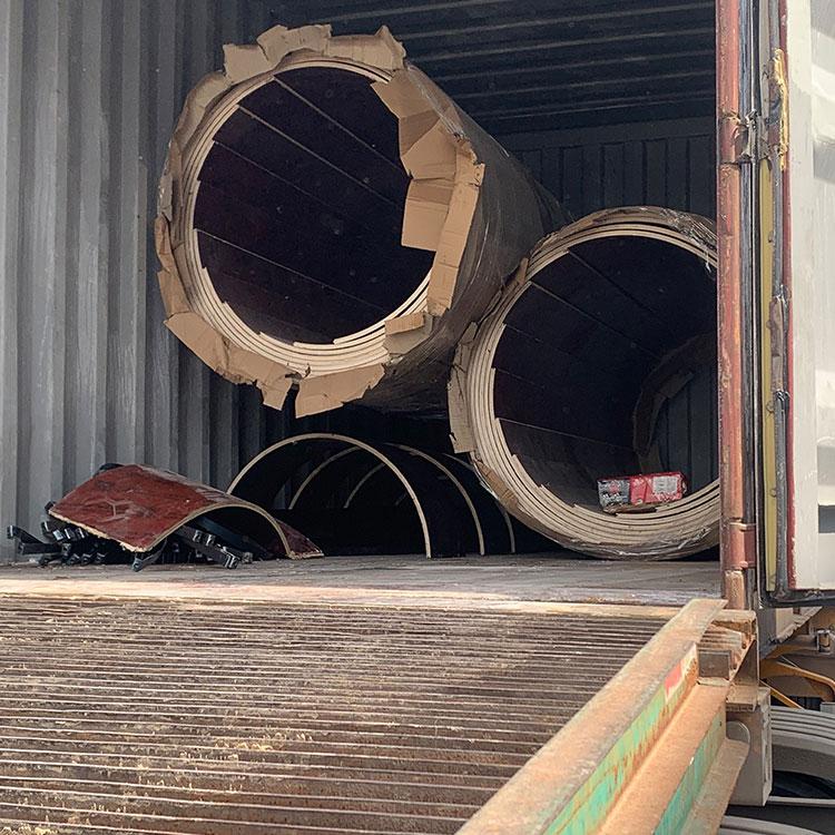 南通 圆形柱子木模板 源头厂家
